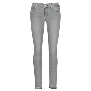 Vêtements Femme Jeans slim Replay LUZ Gris