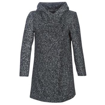 Vêtements Femme Manteaux Casual Attitude LOUA Gris / Noir