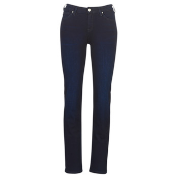 Vêtements Femme Jeans droit Lee MARION STRAIGHT DARK MULBERRY Bleu