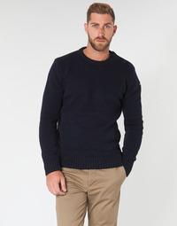 Vêtements Homme Pulls Schott PLOUTRIDER1 Marine