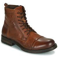 Chaussures Homme Boots Jack & Jones JFW RUSSEL LEATHER Cognac