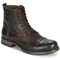 Chaussures Homme Boots Jack & Jones JFW RUSSEL LEATHER Marron