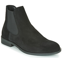 Chaussures Homme Boots Selected LOUIS SUEDE CHELSEA BOOT Noir