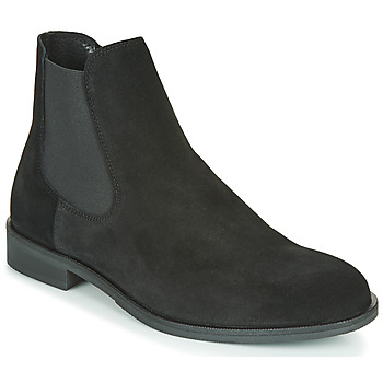 Chaussures Homme Boots Selected LOUIS SUEDE CHELSEA Noir