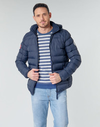 Vêtements Homme Doudounes Geographical Norway BALANCE-MARINE Marine