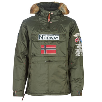 Vêtements Homme Parkas Geographical Norway BARMAN-KAKI Kaki