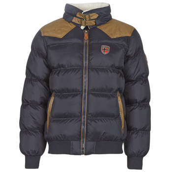 Vêtements Homme Parkas Geographical Norway ABRAMOVITCH-MARINE Marine
