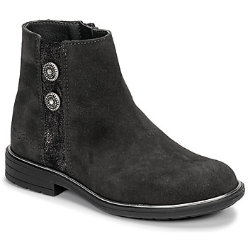 Chaussures Fille Boots Pablosky 475256 Gris