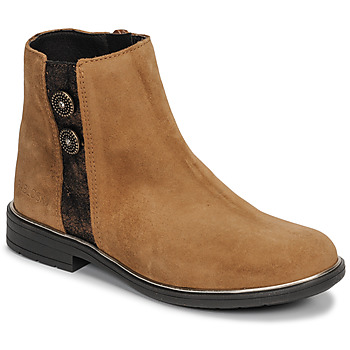 Chaussures Fille Boots Pablosky 475288 Camel