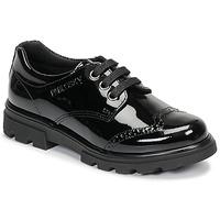 Chaussures Fille Derbies Pablosky 335419 Noir