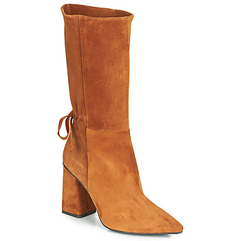 Chaussures Femme Bottes ville Fericelli LUCIANA Camel