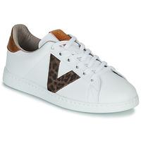 Chaussures Femme Baskets basses Victoria TENS PRINT Blanc
