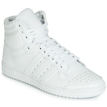 Chaussures Homme Baskets montantes adidas Originals TOP TEN HI Blanc