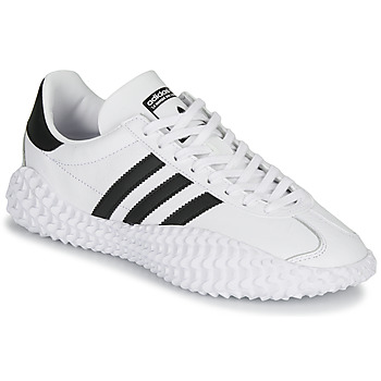 Chaussures Homme Baskets basses adidas Originals COUNTRYXKAMANDA Blanc / Noir