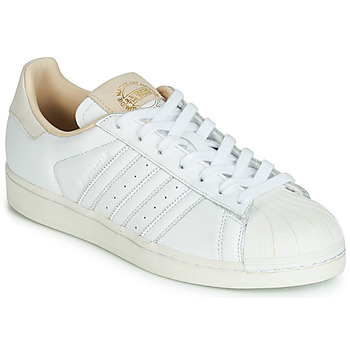Chaussures Baskets basses adidas Originals SUPERSTAR Blanc / beige