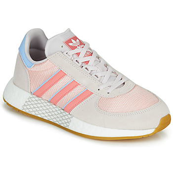 Chaussures Femme Baskets basses adidas Originals MARATHON TECH W Gris / rose