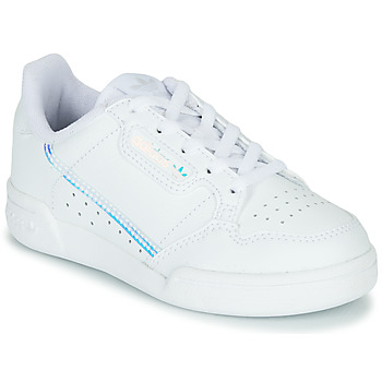 Chaussures Enfant Baskets basses adidas Originals CONTINENTAL 80 C Blanc / bleu