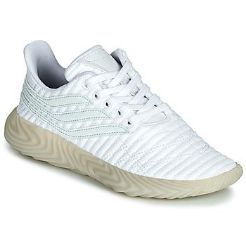 Chaussures Garçon Baskets basses adidas Originals SOBAKOV J Blanc