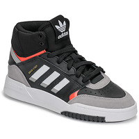 Chaussures Garçon Baskets basses adidas Originals DROP STEP J Noir / gris