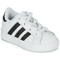 Chaussures Enfant Baskets basses adidas Originals COAST STAR EL I Blanc / noir