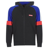 Vêtements Homme Sweats Levi's PIECED FULLZIP HOODIE Noir / Bleu / Rouge