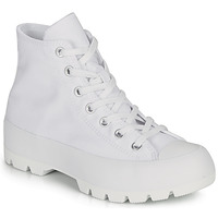 Chaussures Femme Baskets montantes Converse CHUCK TAYLOR ALL STAR LUGGED - HI Blanc