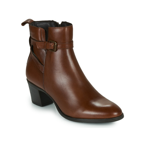 Chaussures Femme Bottines Betty London LEONA Cognac