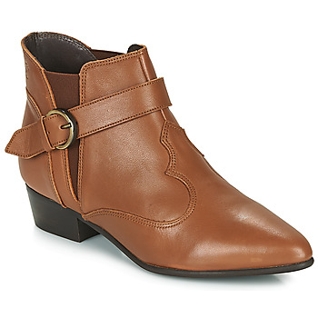 Chaussures Femme Boots Betty London LYDWINE Cognac