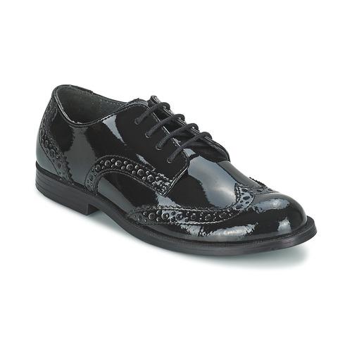 Chaussures Fille Derbies Start Rite BURFORD Noir