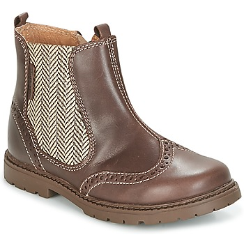 Chaussures Enfant Boots Start Rite DIGBY Marron