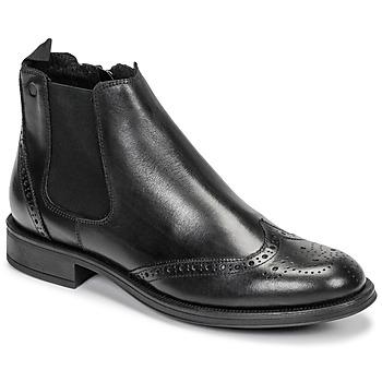 Chaussures Homme Boots Carlington LEVOTO Noir