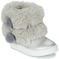 Chaussures Fille Boots Primigi BABY STARS Argent