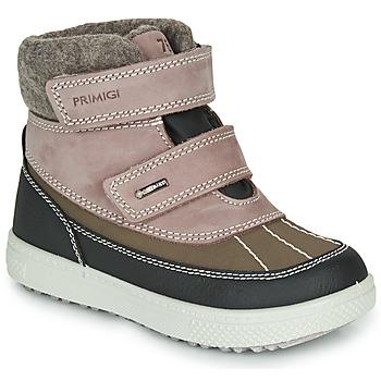 Chaussures Fille Bottes de neige Primigi PEPYS GORE-TEX Vieux Rose / Marron