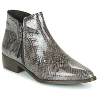 Chaussures Femme Boots Ippon Vintage STING HILL Gris Vernis