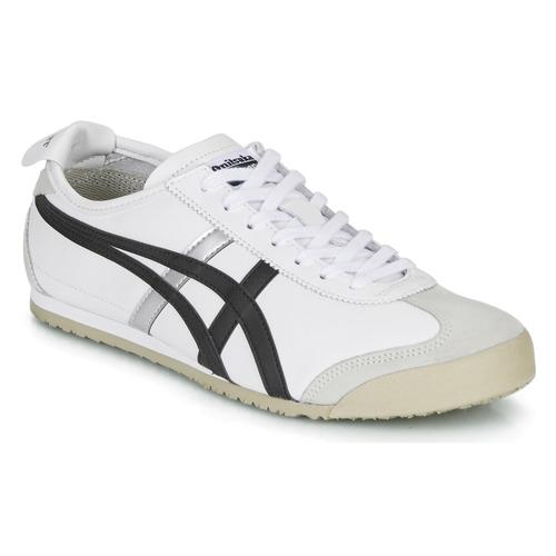 Chaussures Baskets basses Onitsuka Tiger MEXICO 66 Blanc / Noir