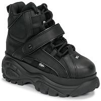 Chaussures Femme Baskets montantes Buffalo 1348 Noir