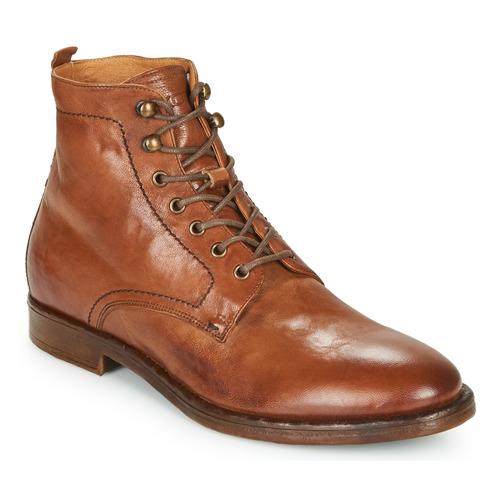 Chaussures Homme Boots Kost MILITANT 17 Cognac