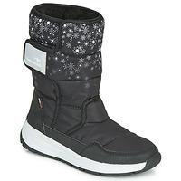 Chaussures Femme Bottes de pluie Kangaroos K-FLUFF RTX Noir / Gris