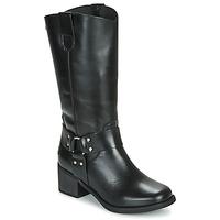 Chaussures Femme Bottes ville Musse & Cloud AUSTIN Noir