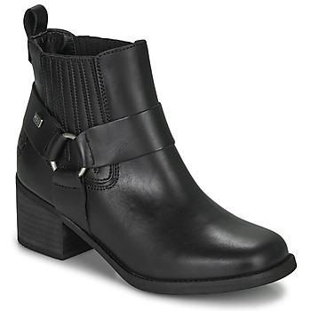 Chaussures Femme Bottines Musse & Cloud ARLING Noir