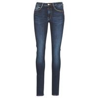 Vêtements Femme Jeans slim Le Temps des Cerises PULP HIGH SLIM Bleu