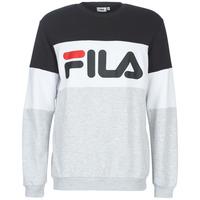 Vêtements Homme Sweats Fila STRAIGHT BLOCKED CREW Gris / Noir