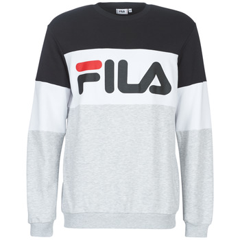 Vêtements Homme Sweats Fila STRAIGHT BLOCKED CREW Gris / Noir