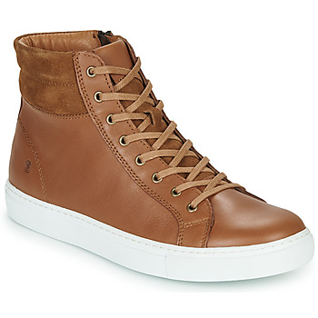 Chaussures Homme Baskets montantes Casual Attitude LUCKY Camel