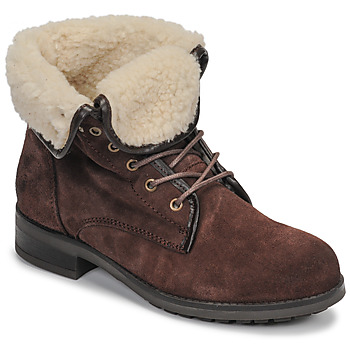 Chaussures Femme Boots Casual Attitude LEILA Marron