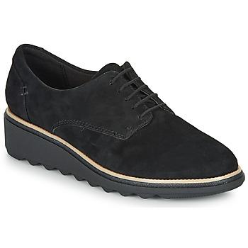 Chaussures Femme Derbies Clarks SHARON NOEL Noir