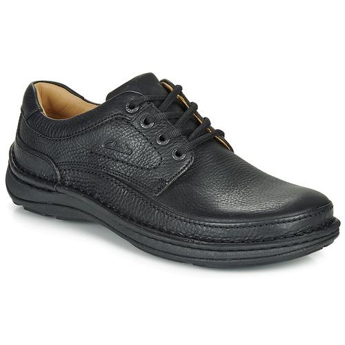 Chaussures Homme Derbies Clarks NATURE THREE Noir