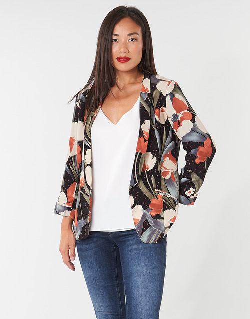 Vêtements Femme Vestes / Blazers Betty London IOUPA Noir / Multicolore