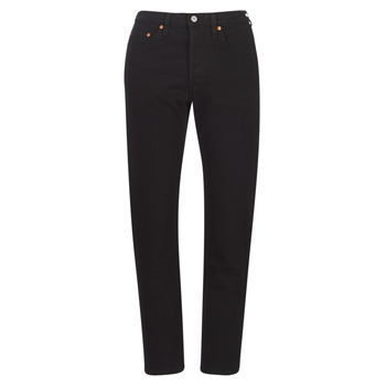 Vêtements Femme Jeans boyfriend Levi's 501 CROP Black heart
