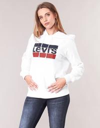 Vêtements Femme Sweats Levi's GRAPHIC SPORT HOODIE Blanc